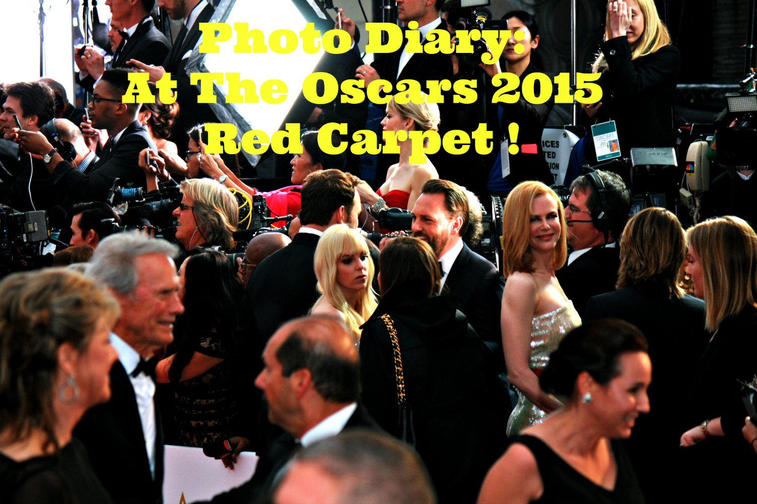 Photo Diary: The Oscars 2015 Red Carpet With United Airlines