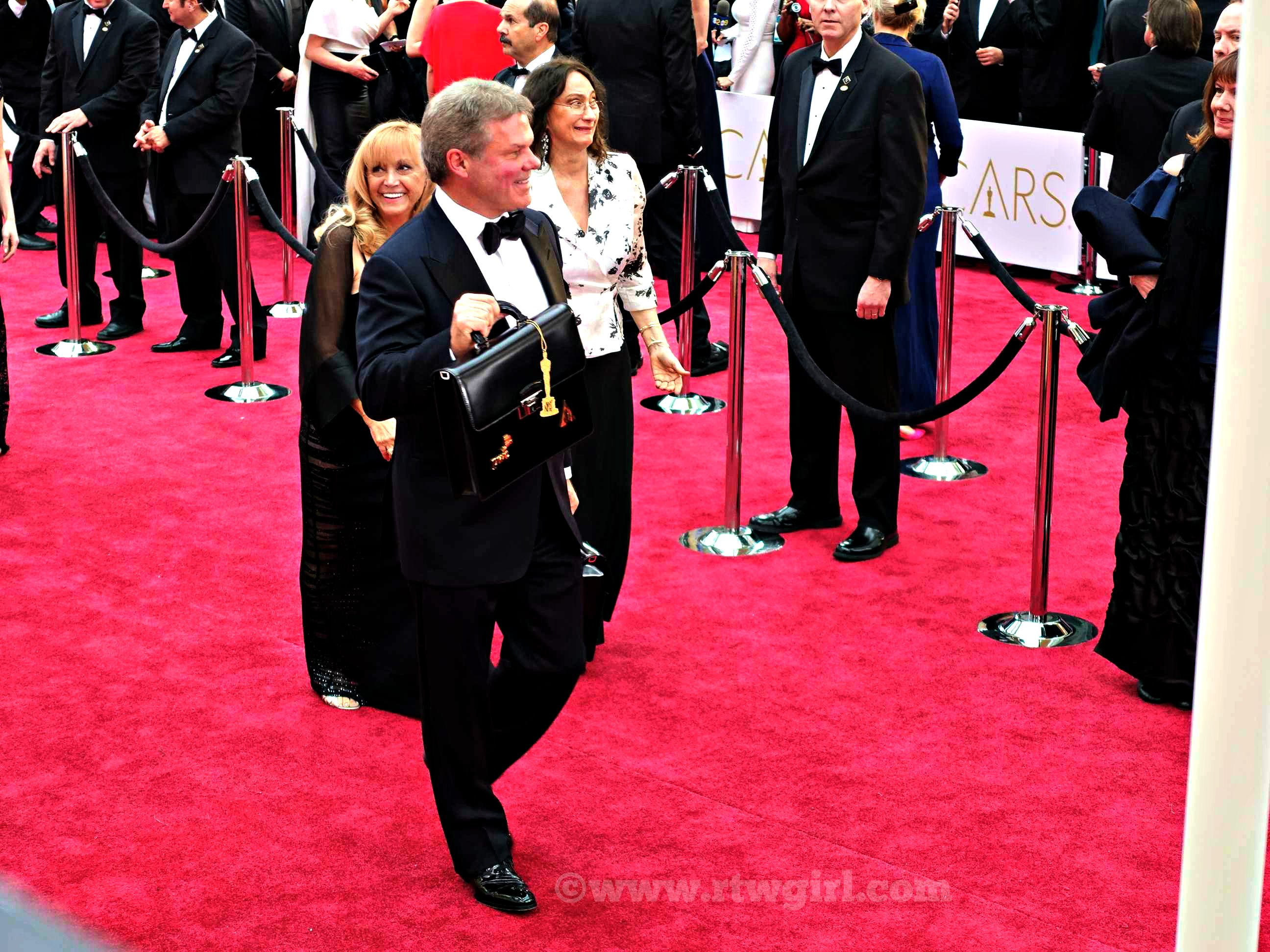 Red Carpet Price Waterhouse Coopers Brian Cullinan Carrying Ballots