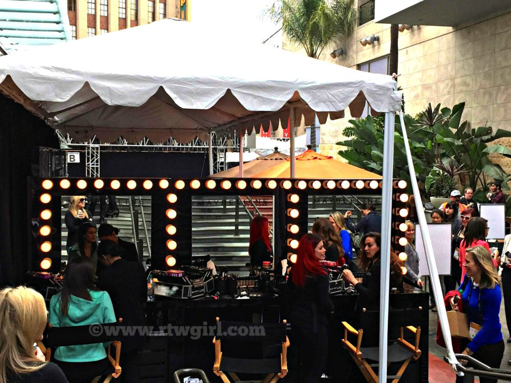 Maybelline Makeup Tent Oscars Red Carpet Experience 2015