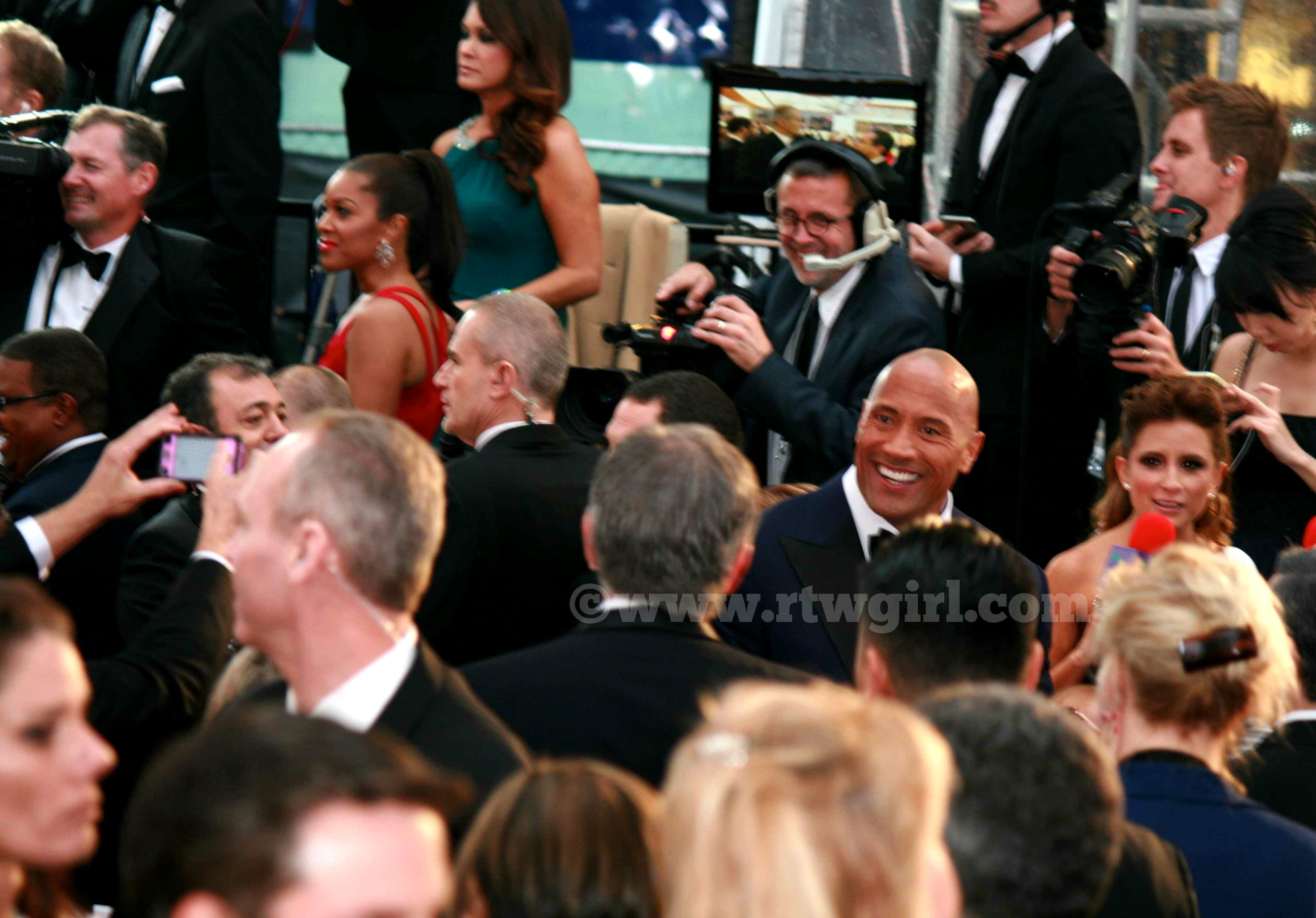 The Rock Red Carpet 2015