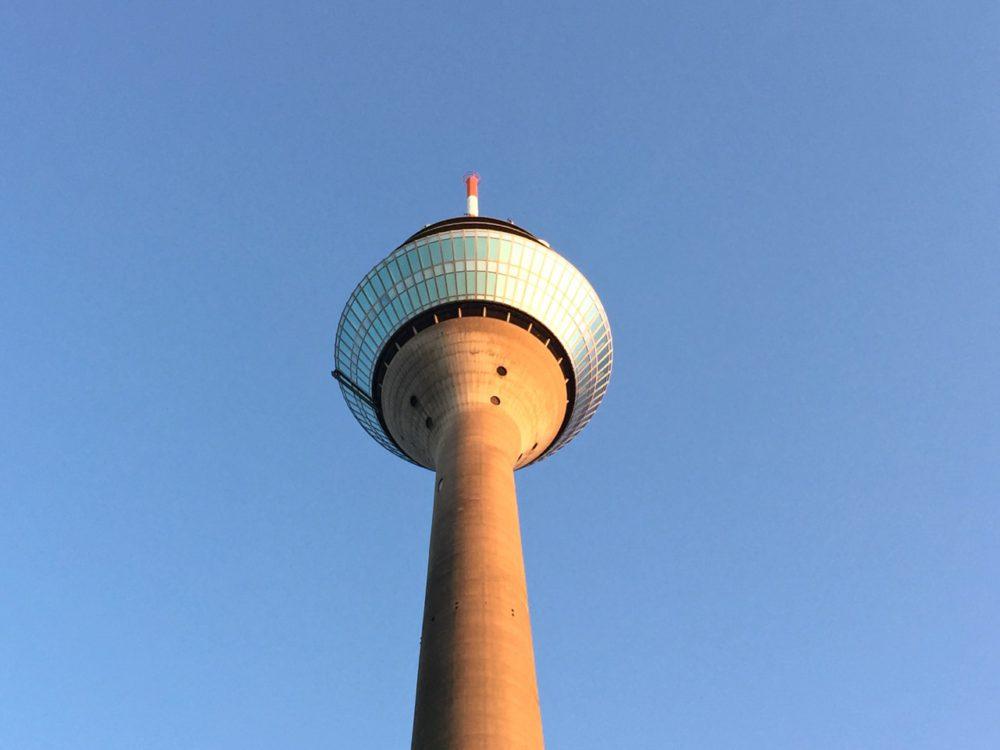 Rheinturm or Rhine Tower