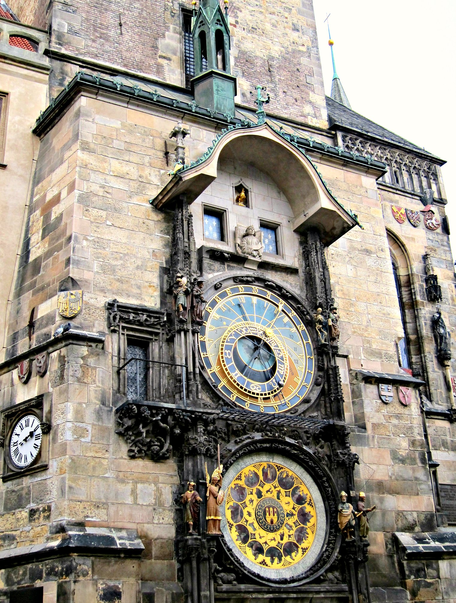 Astronomical Clock Orloj - Prague | www.rtwgirl.com