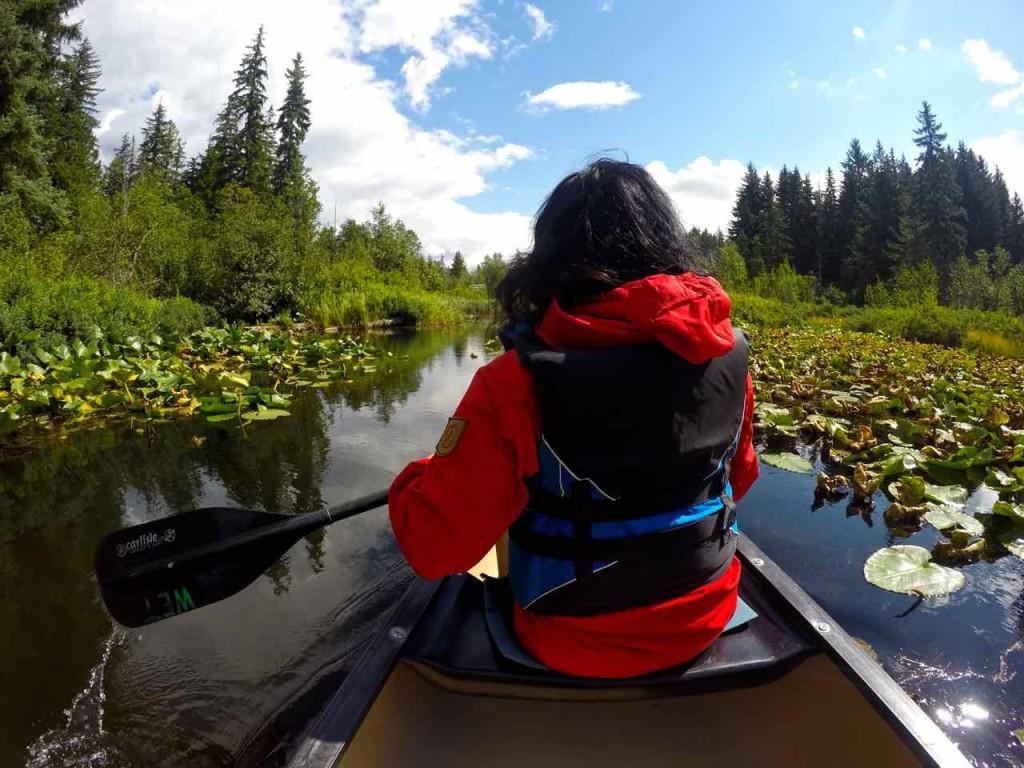 River of Golden Dreams Canoeing Whistler via http://rtwgirl.com