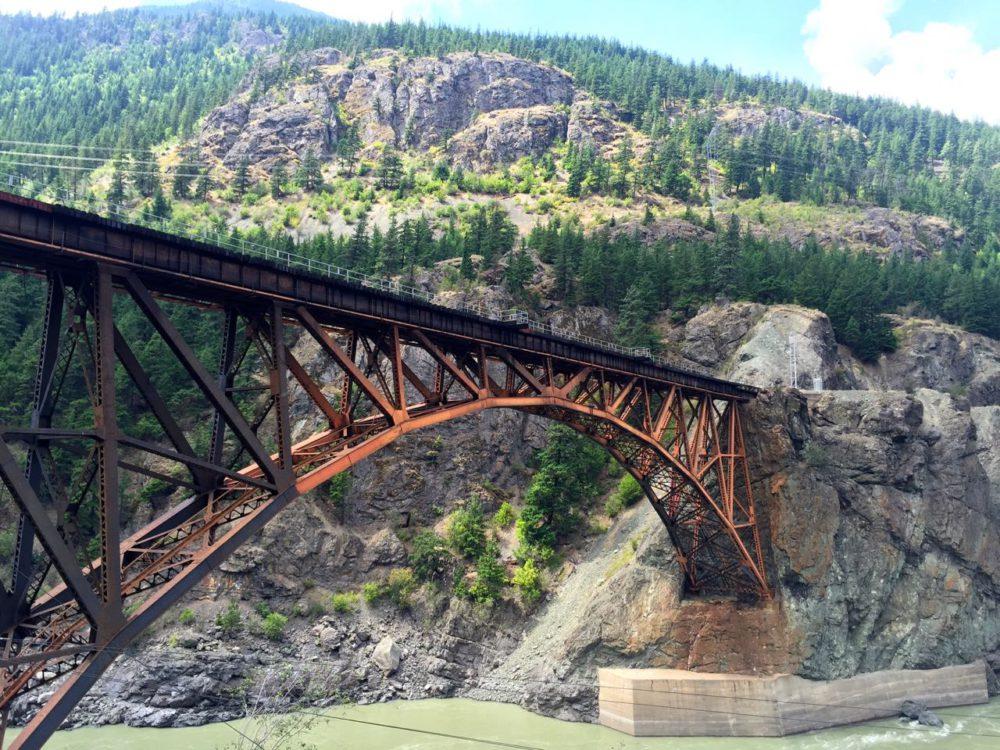 Cicsco Bridge from the Rocky Mountaineer | www.rtwgirl.com