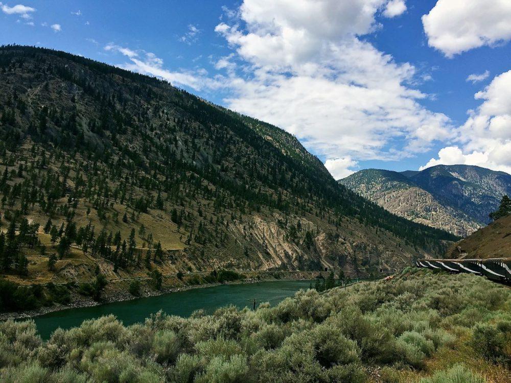 Lytton from the Rocky Mountaineer train   www.rtwgirl.com