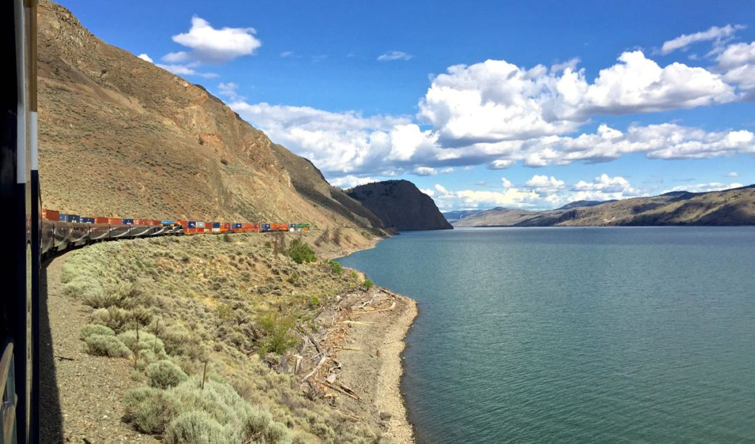 Rocky Mountaineer bound for Kamloops | www.rtwgirl.com