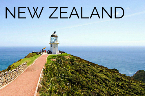 NEW ZEALAND TRAVEL GUIDES