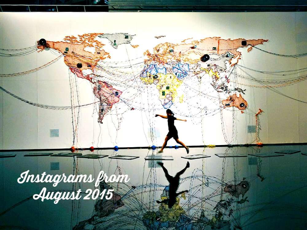 August 2015 In Instagram Photos