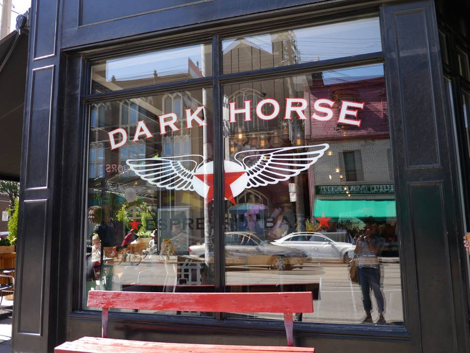 Toronto Food - Dark Horse Coffee | www.rtwgirl.com