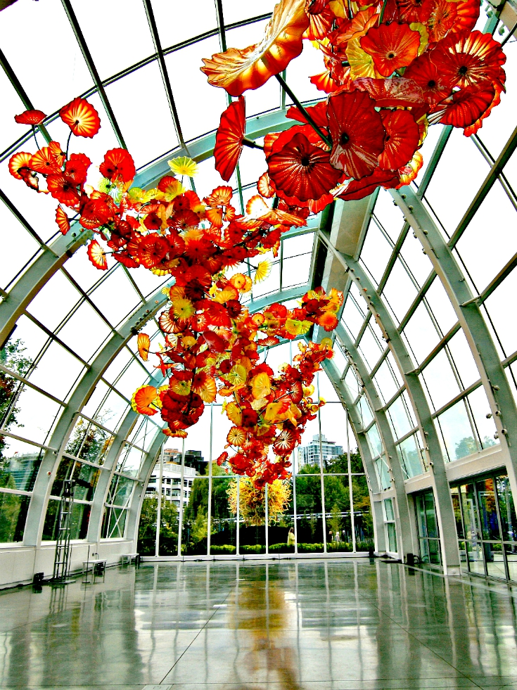 Seattle Day Trip - Garden and Glass | www.rtwgirl.com