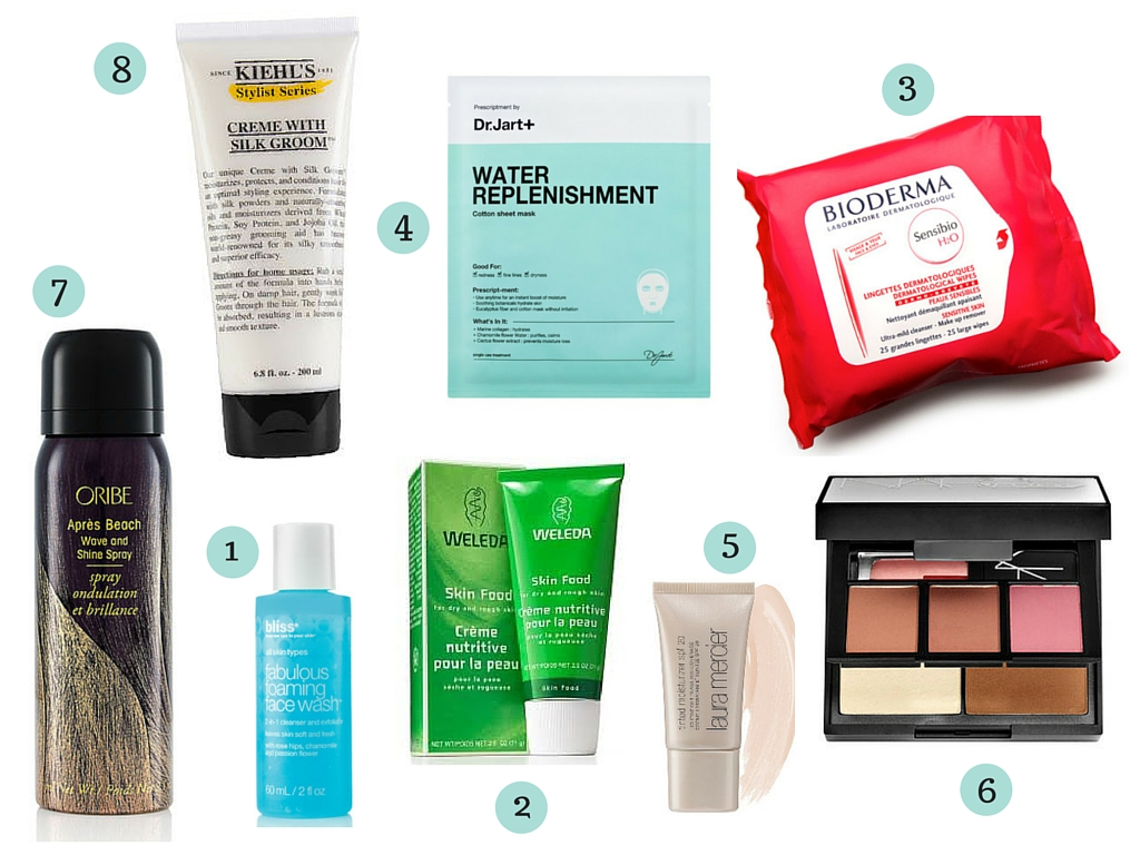 Travel Beauty Favorites | www.rtwgirl.com