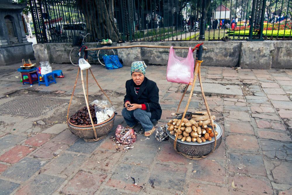 Street vendor Vietnam