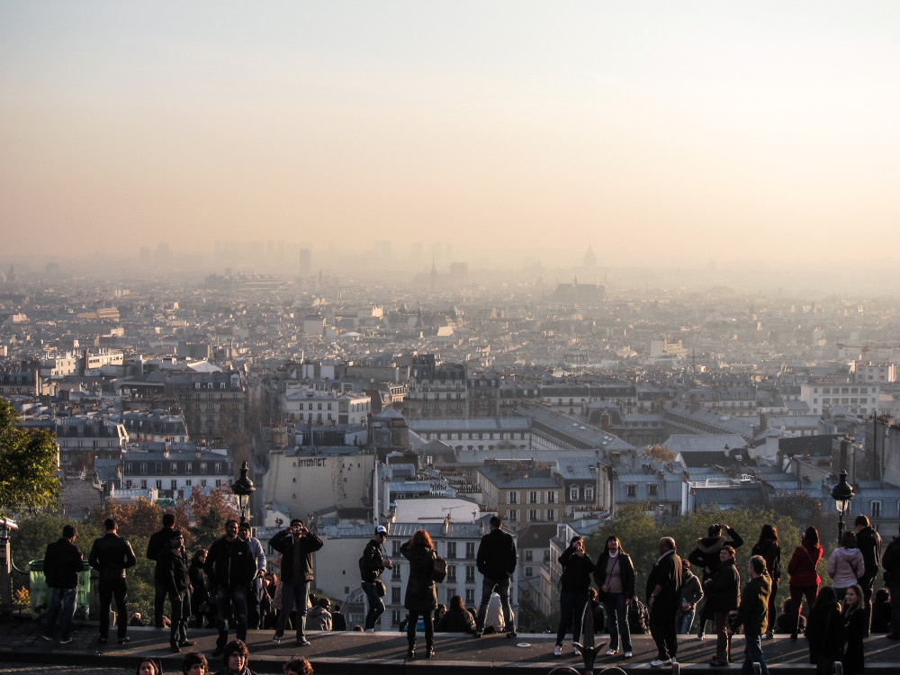 View from Montmartre - Paris tips | www.rtwgirl.com