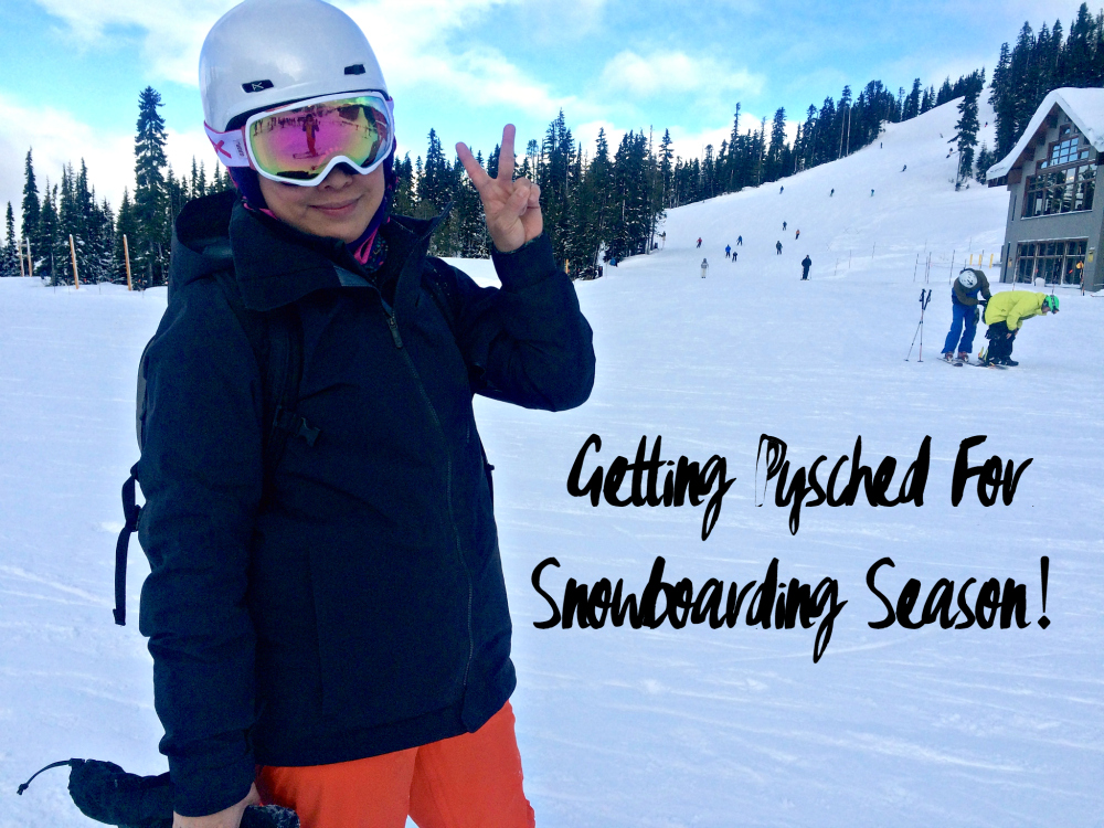 Getting Pysched For Snowboarding In My Burton Gear
