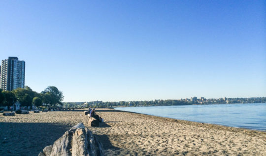 Vancouver Beaches - English Bay | www.rtwgirl.com