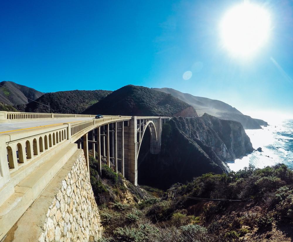 Bixby Bridge GoPro