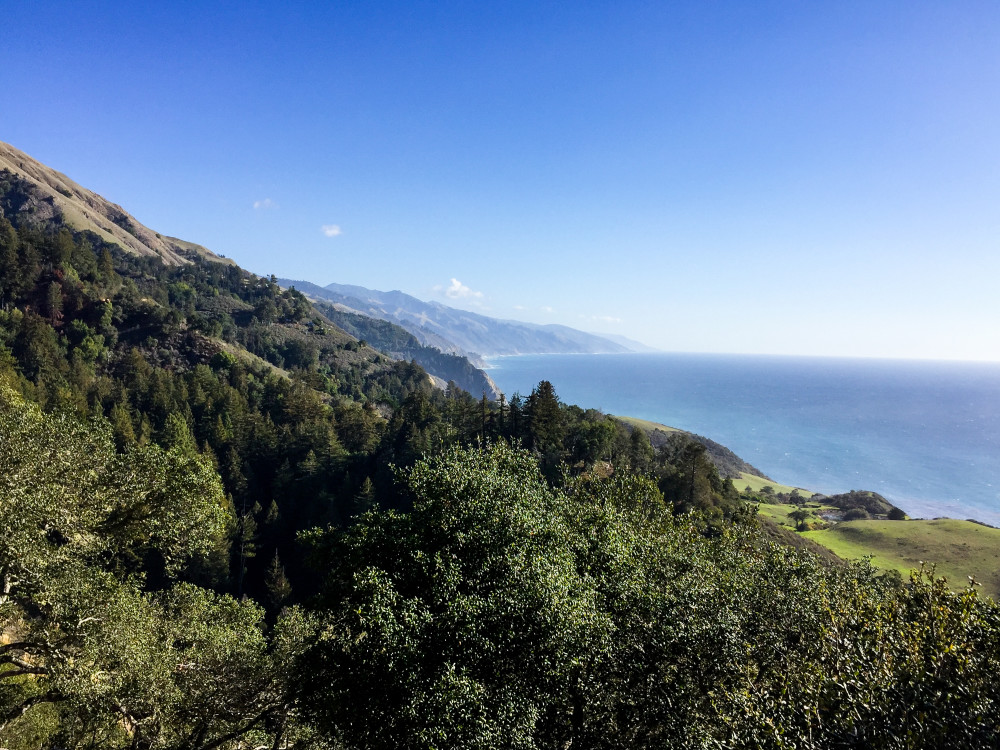 View from Nepenth in Big Sur
