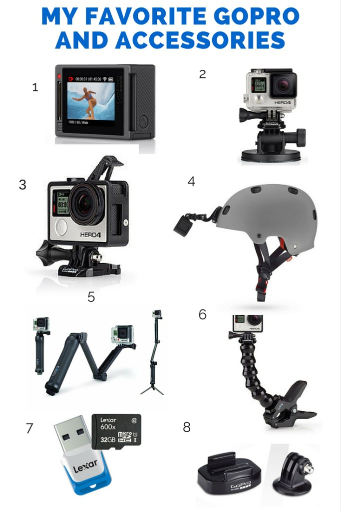 My Favorite GoPro Accessories