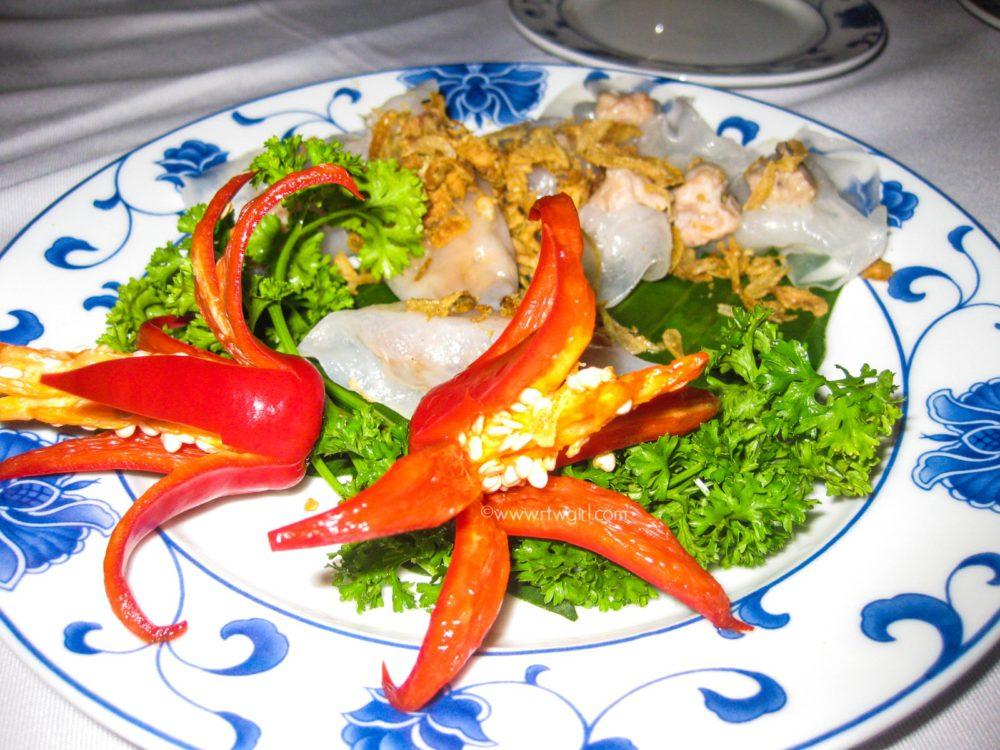 Hoi An Ban Bao Vac White Rose Dumpling | www.rtwgirl.com