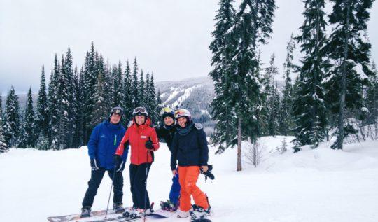 Snowboarding with Nancy Green at Sun Peaks   www.rtwgirl.com