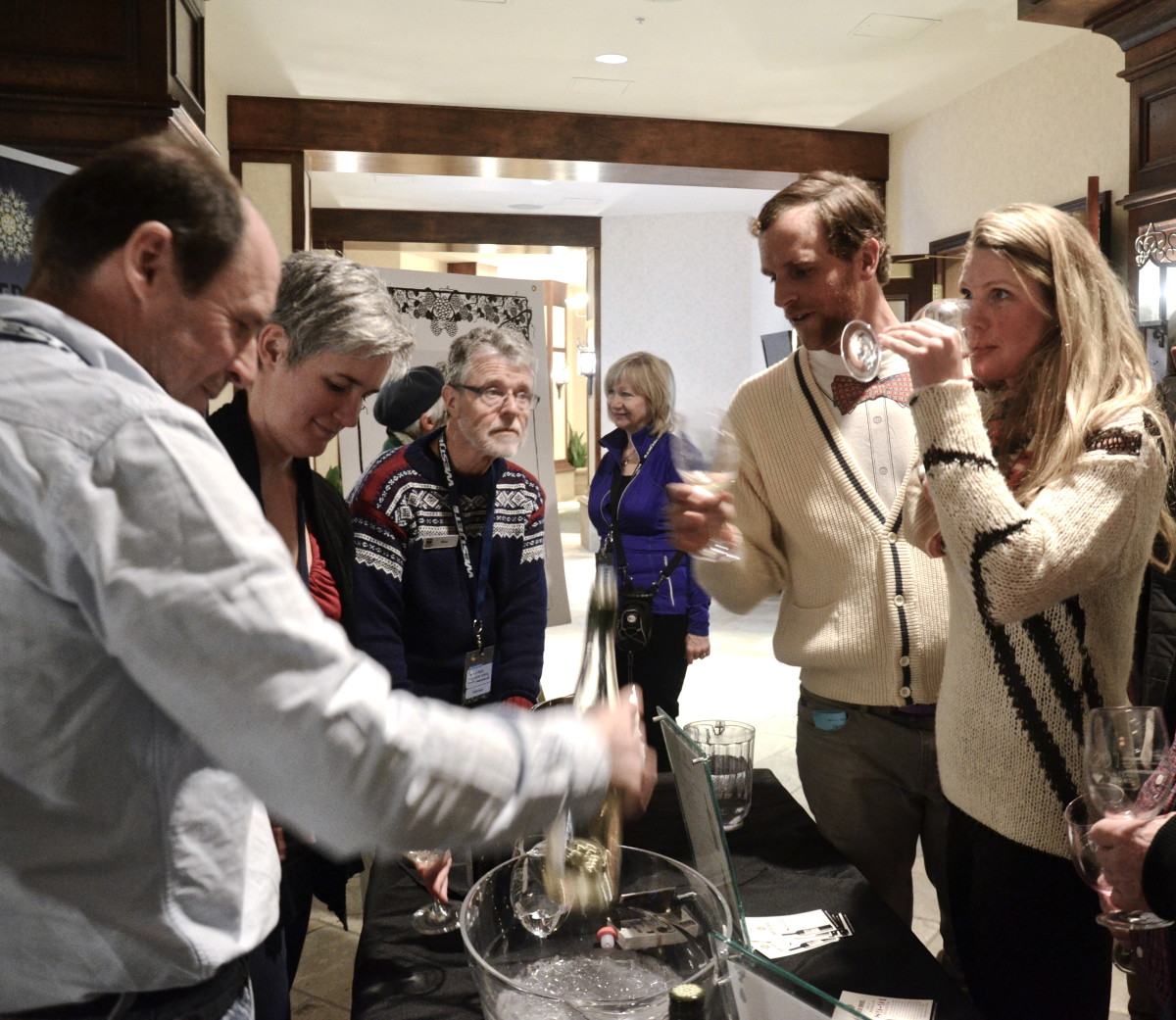 West Jet Progressive Tasting - Winter Okanagan Wine Festival