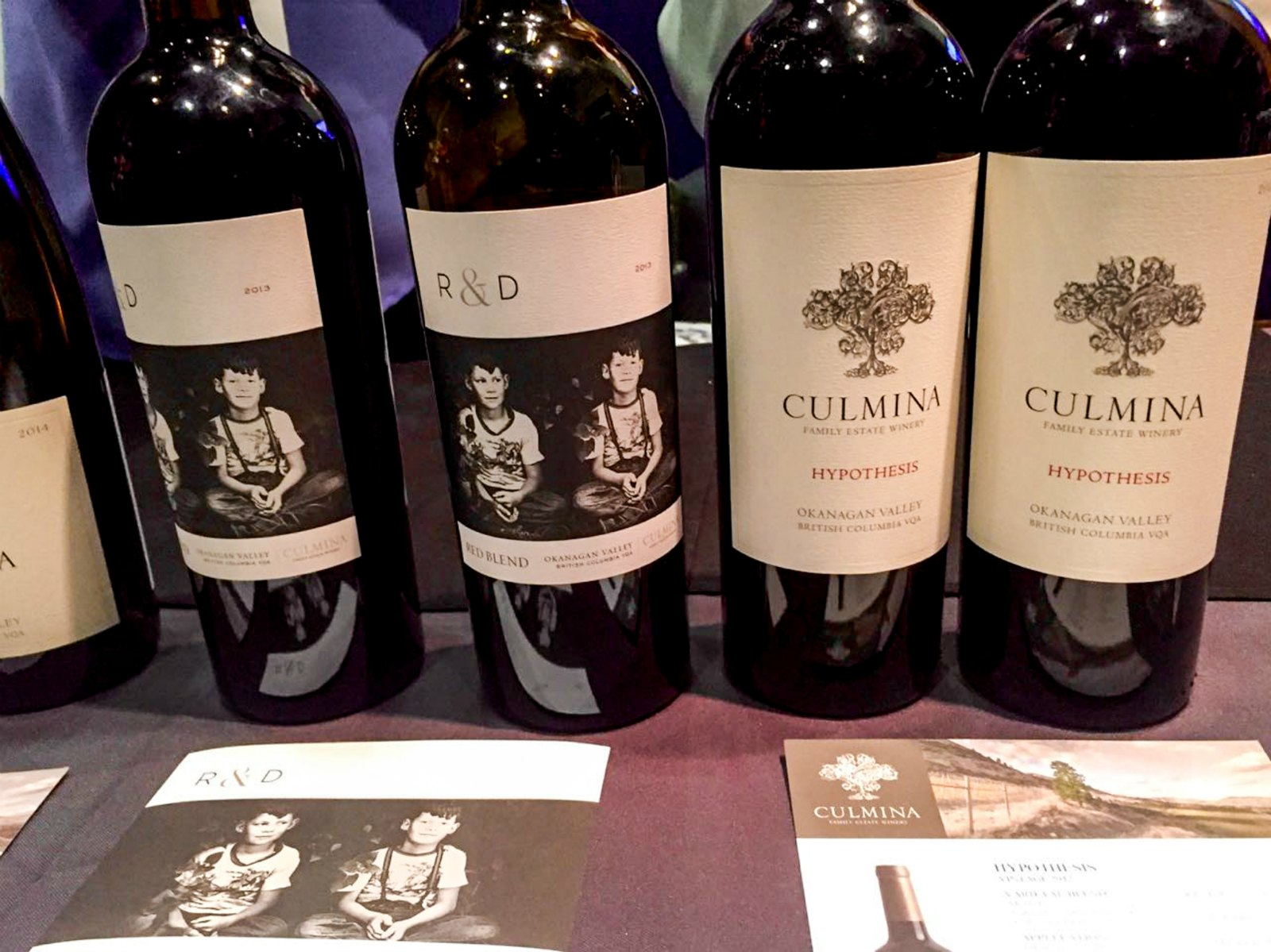 Culmina WestJet Progressive Wine Tasting - Winter Okanagan Wine Festival