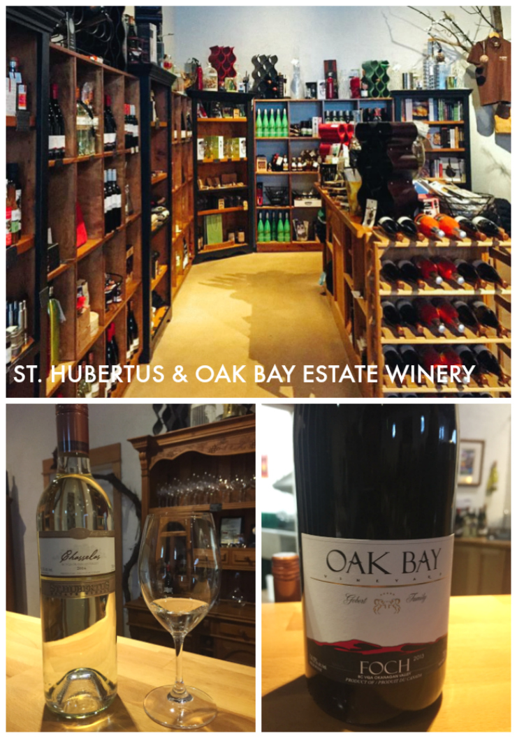 St. Hubertus & Oak Bay Estate Winery
