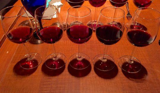 BC Winemakers' dinner at Mantles