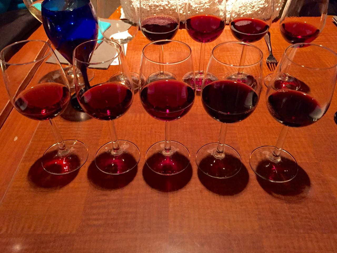 BC Winemakers' dinner at Mantles - Winter Okanagan Wine Festival