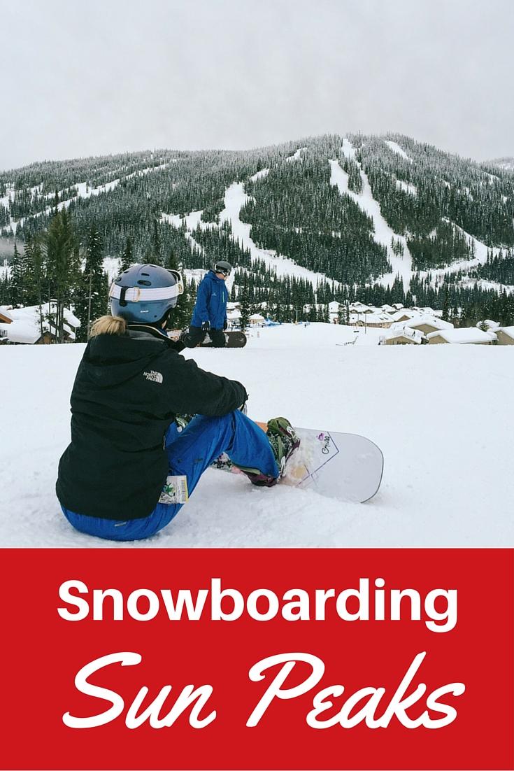 Snowboarding Sun Peaks