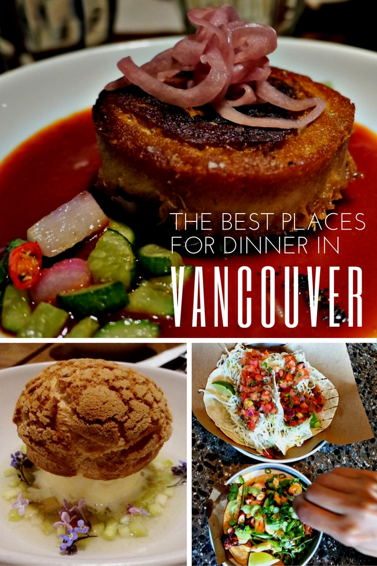 The best places for Vancouver dinning experiences | www.rtwgirl.com