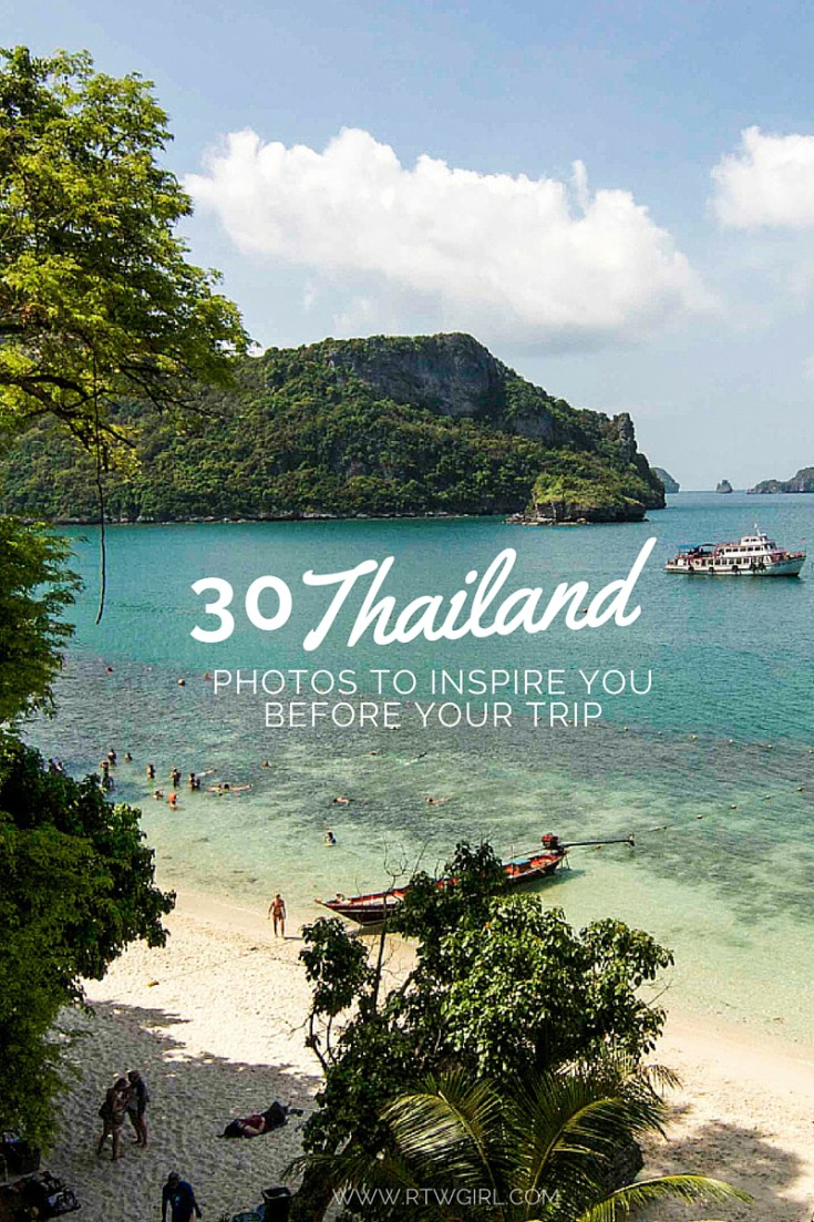 30 Thailand Photos To Get You Inspired For Your Trip! | via www.rtwgirl.com