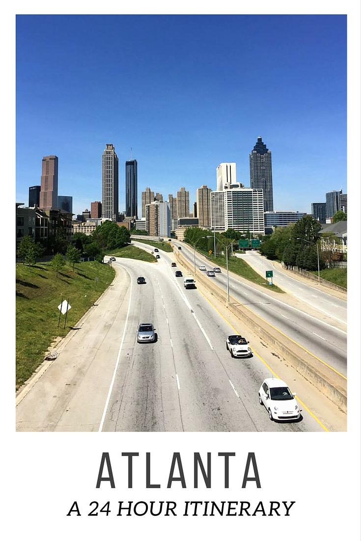 Visiting Atlanta, Georgia and only have a day? I shared a 24-hour itinerary with suggestions for this popular city in the south | www.rtwgirl.com