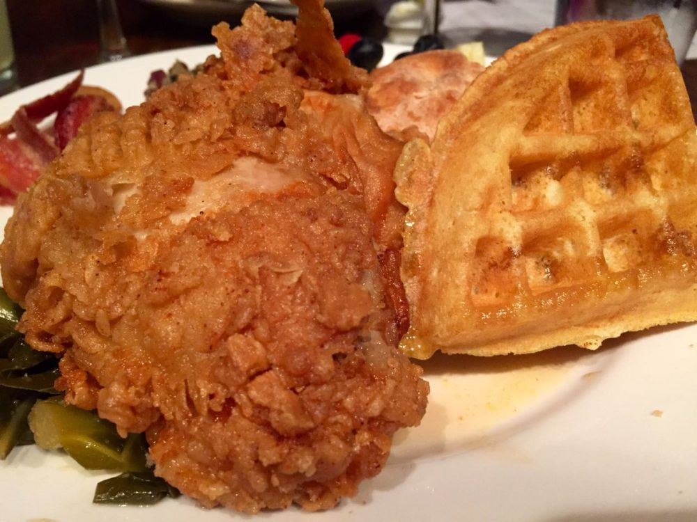 Chicken and Waffles at Freight Woodstock Georgia | www.rtwgirl.com