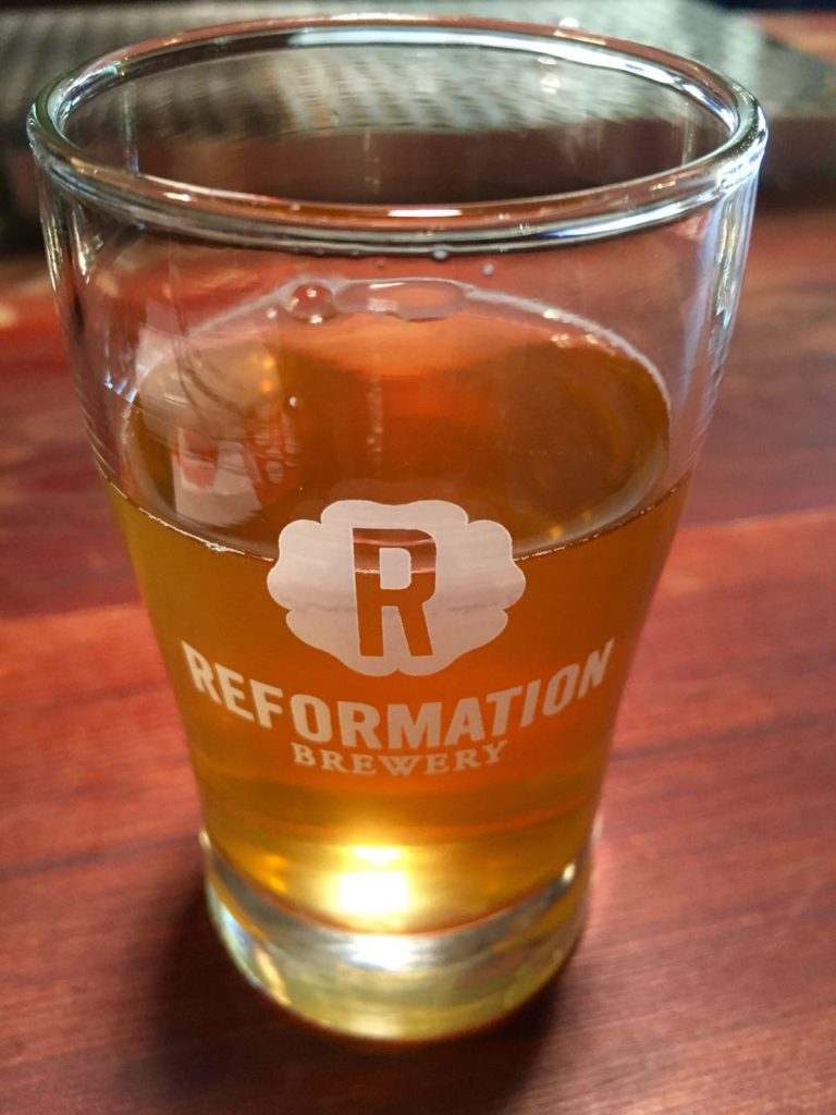 Craft Beer at Reformation Brewery in Woodstock Georgia | www.rtwgirl.com