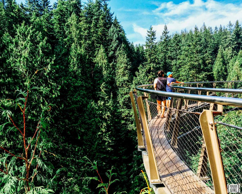 Cliff Walk At Capilano Suspension Bridge | www.rtwgirl.com