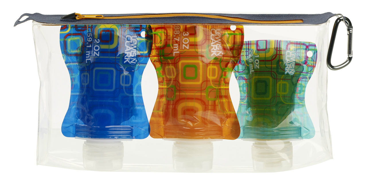 Lewis N Clark Flat Bottle Set | www.rtwgirl.com