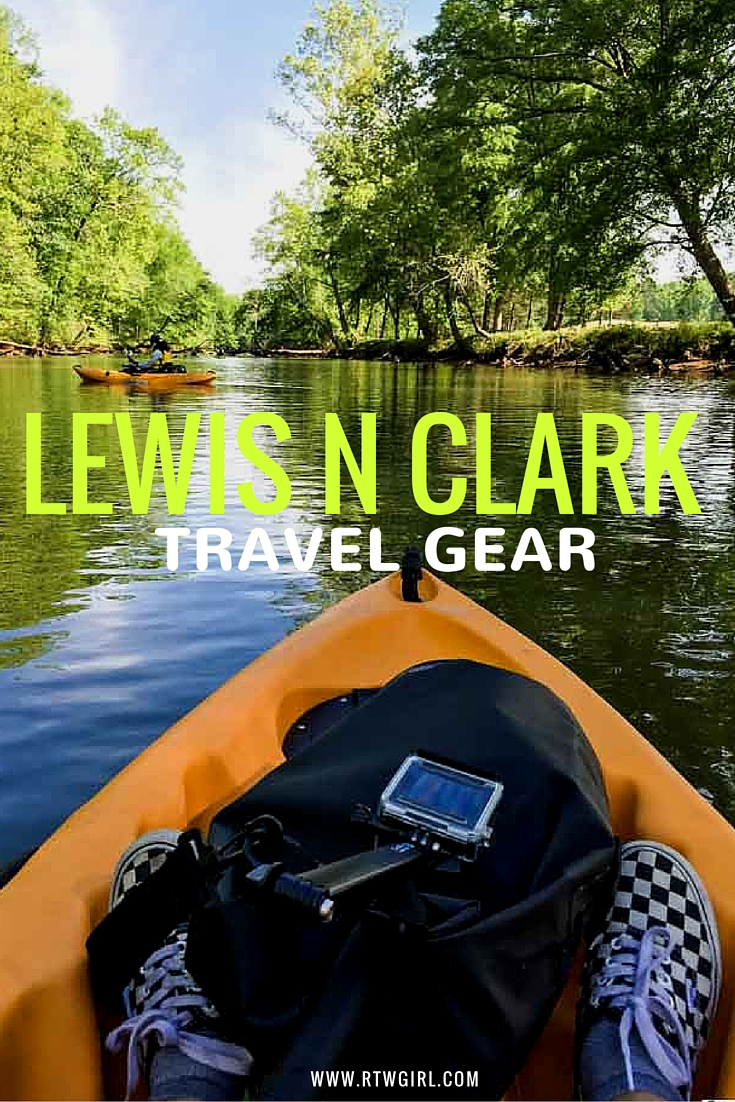 Reviewed: Lewis N Clark Travel Gear | www.rtwgirl.com