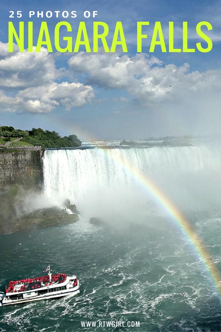 how to visit niagara falls canada