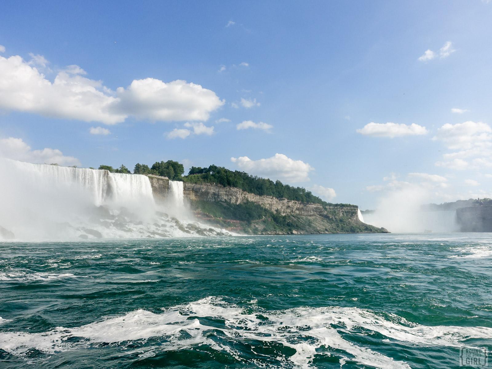 Hornblower Cruise Niagara Falls | www.Rtwgirl.com