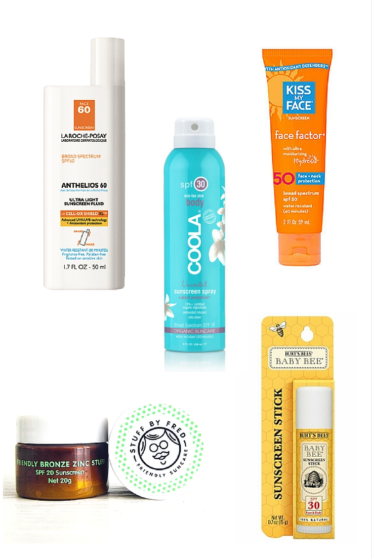 Summer Outdoors Packing List - Sunscreens | www.rtwgirl.com