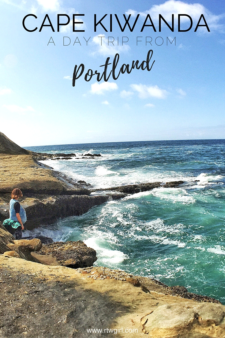 Looking for some day trip ideas from Portland, Oregon? Cape Kiwanda on the Oregon Coast is one of my favorite day trips close to Portland | www.rtwgirl.com