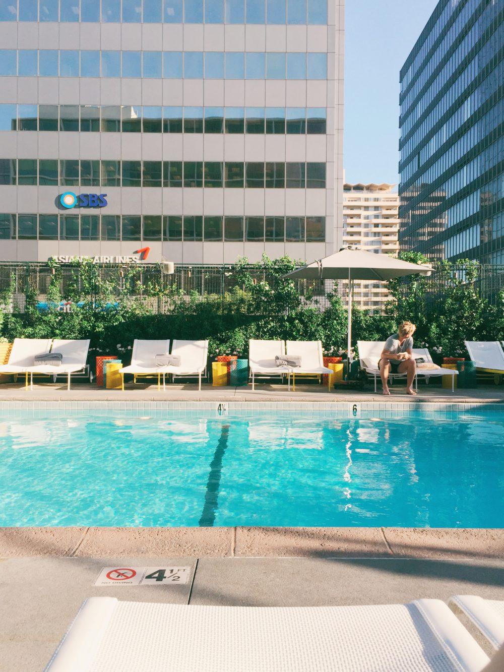Line Hotel Los Angeles | www.rtwgirl.com