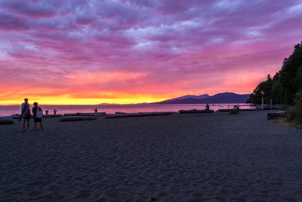 Vancouver Beaches - Wreck Beach | www.rtwgirl.com