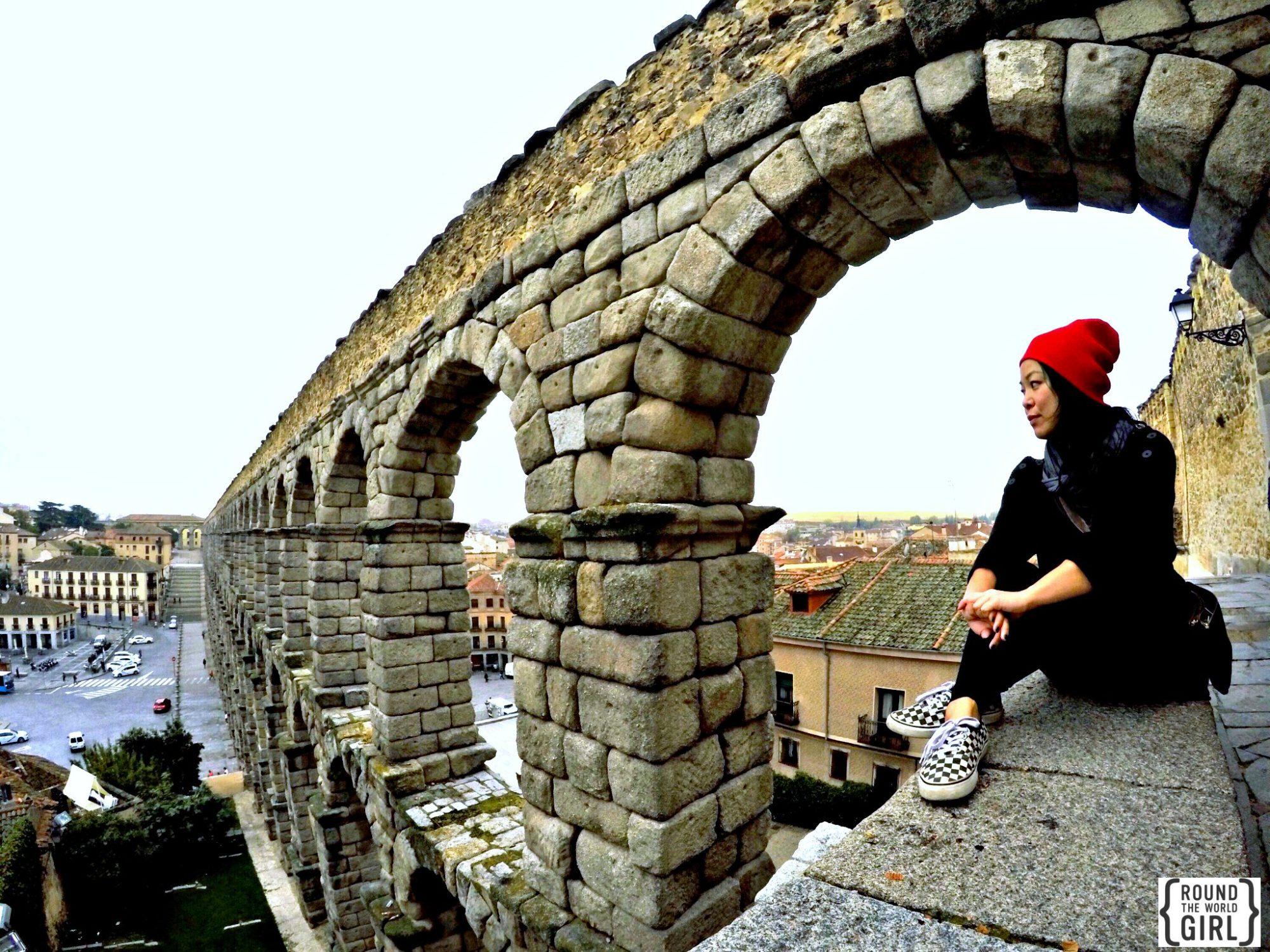 Segovia Aqueduct   www.rtwgirl.com