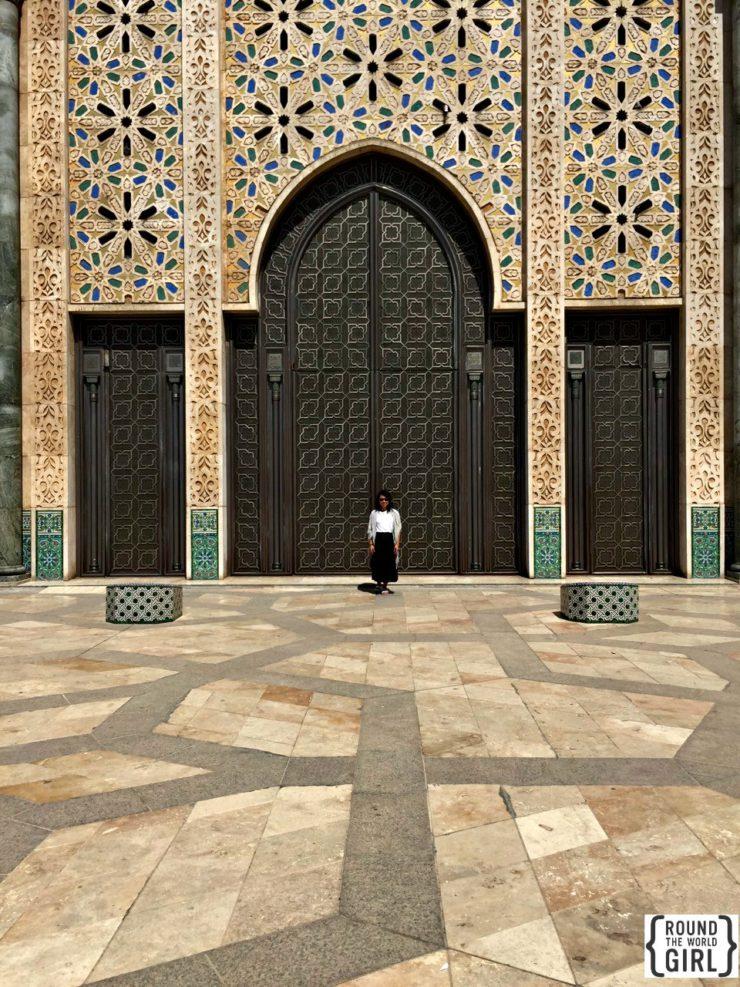 Hassan II Mosque Casablanca | www.rtwgirl.com