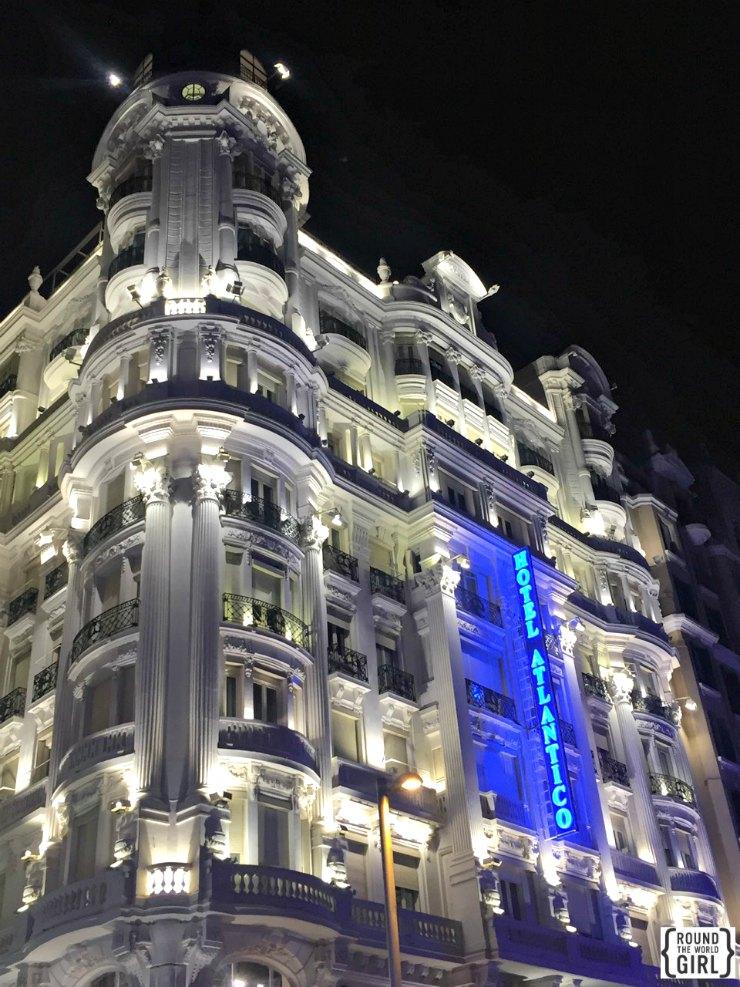 Gran Via Hotel Atlantico | www.rtwgirl.com