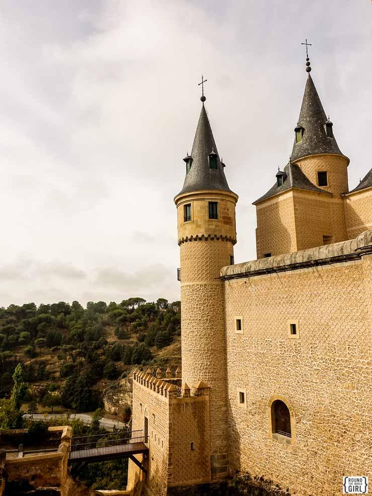 Alcazar in Segovia | www.rtwgirl.com