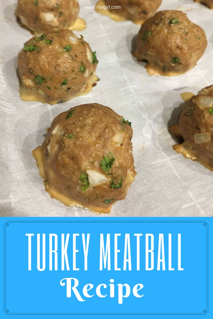 Turkey Meatball Recipe | www.rtwgirl.com