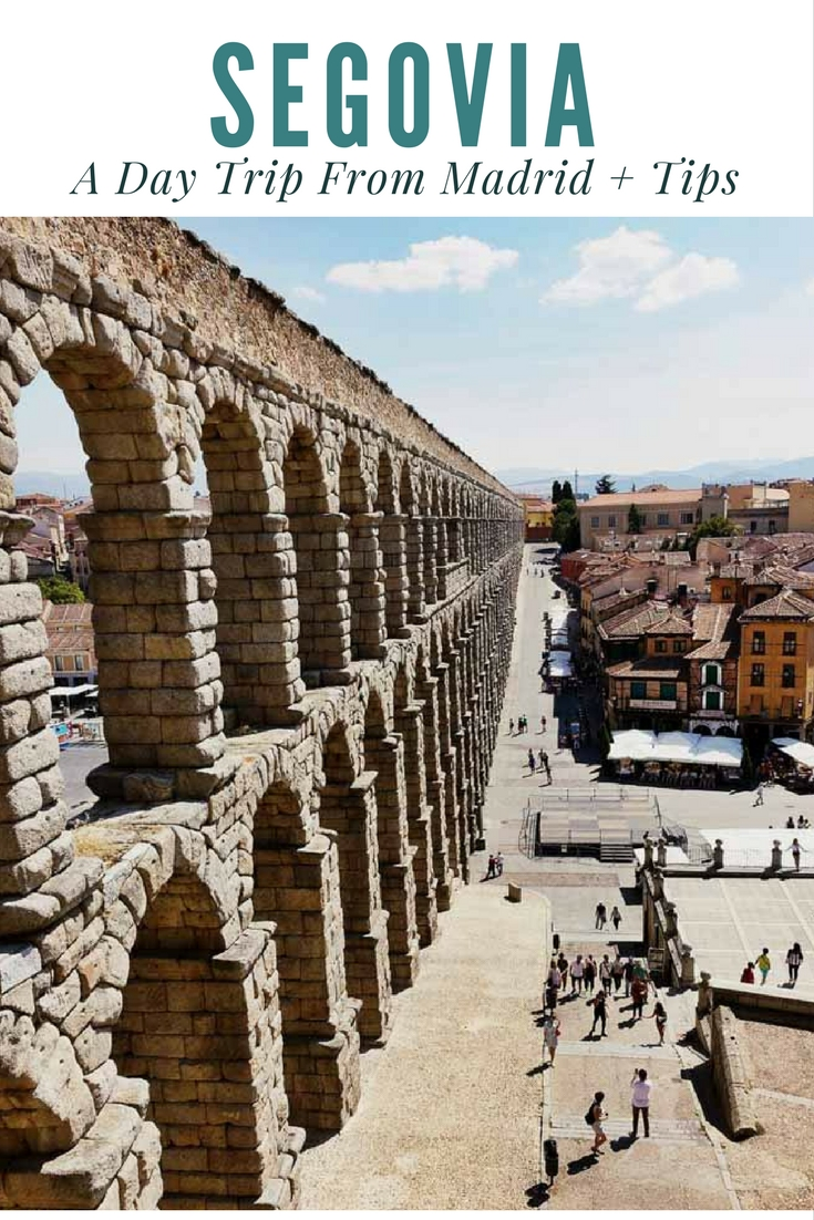 Segovia: A Must Do Day Trip From Madrid + Tips | www.rtwgirl.com